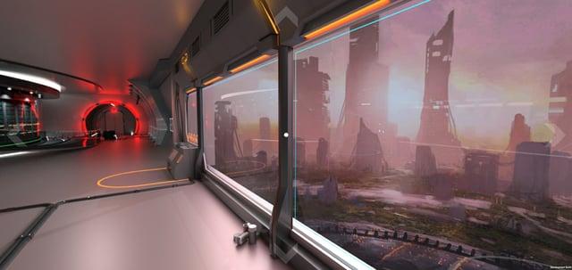 VR escape room